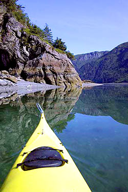 kayaking Sadie Cove Alaska